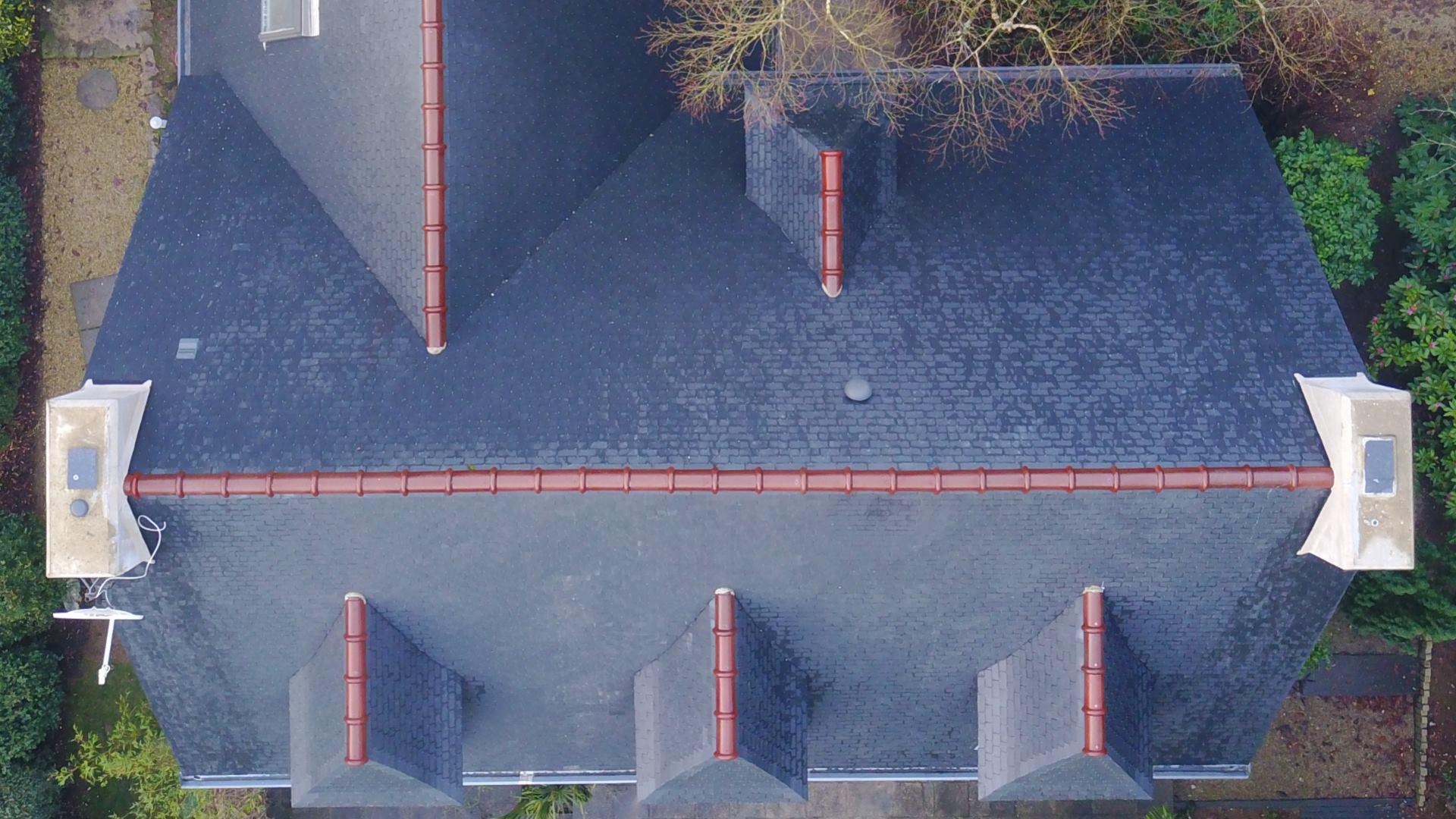 Nettoyage toiture : Après